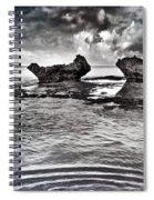 Sea Ripples Spiral Notebook
