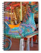 Sea Serpent Carousel Ride Spiral Notebook