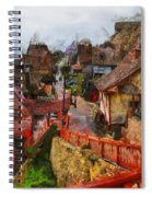 Sea Town Spiral Notebook