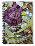 Sea Treasure - Landscape Spiral Notebook