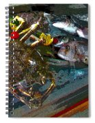 Seafood In Opatija -1 Spiral Notebook