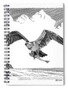 Seahawk Dinnertime Spiral Notebook