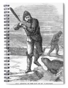Seal Hunting, 1867 Spiral Notebook