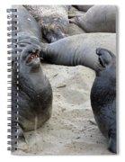 Seal Spa. Men's Talk2 Spiral Notebook