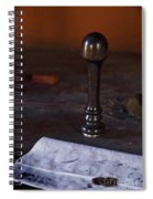 Sealed Spiral Notebook
