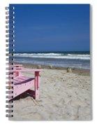 Seas The Chair  Spiral Notebook