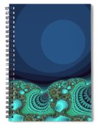 Seashells By The Sea Fractal Spiral Notebook