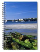 Seashore, Portnablagh, County Donegal Spiral Notebook