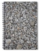 Seashore Rocks Spiral Notebook
