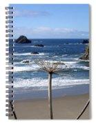 Seaside Solitude Spiral Notebook