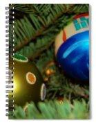Seasons Greetings Spiral Notebook