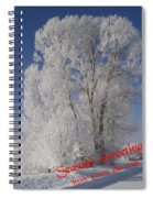Seasons Greetings From Down The Road Spiral Notebook