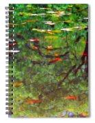 Seasons Reflect Spiral Notebook
