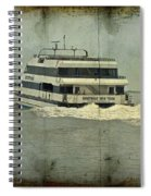 Seastreak Catamaran - Ferry From Atlantic Highlands To Nyc Spiral Notebook