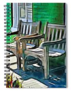 Seating For Two Spiral Notebook