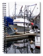 Seattle Fishermans Terminal Spiral Notebook