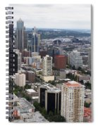 Seattle From The Needle Spiral Notebook