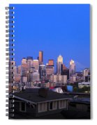 Seattle Skyline 3 Spiral Notebook