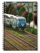 Seattle Sounder Train Spiral Notebook