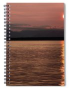 Seattle Sunset Spiral Notebook