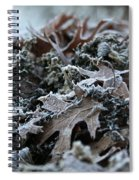 Seaweed And Oak Leaves Spiral Notebook