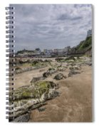 Seaweed Rocks Tenby Spiral Notebook