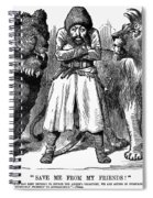 Second Afghan War 1878 Spiral Notebook