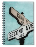 second Avenue 1400 Spiral Notebook