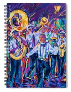 Second Line Spiral Notebook