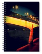 Secrets Of London Bridge Spiral Notebook