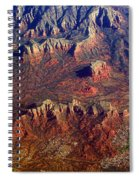 Sedona Arizona Planet Earth Spiral Notebook