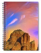 Sedona Glow Spiral Notebook