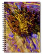 Seize The Day - Abstract Art Spiral Notebook