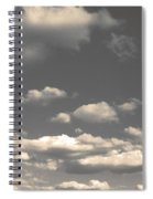Selenium Clouds Spiral Notebook