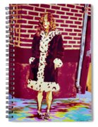 Self Paintlet 1975 Spiral Notebook