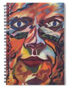 Self Portrait - Map Of Life Spiral Notebook