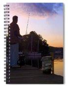 Self Silhouette Spiral Notebook