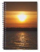 Seneca Lake Sunrise Spiral Notebook