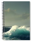 Sennen Surf Seascape Spiral Notebook