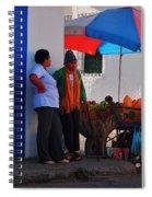 Senor Papaya Spiral Notebook