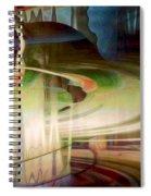 Sensing The Spheres Spiral Notebook