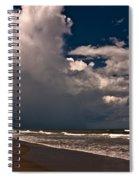 September Beach Spiral Notebook