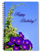 September Birthday Spiral Notebook