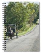 September Roads Spiral Notebook