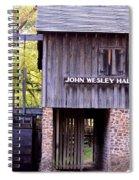 September's Grist Mill Spiral Notebook
