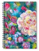 Serendipity Floral Spiral Notebook