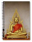 Serene Buddha Spiral Notebook
