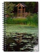 Serene Reflections Spiral Notebook
