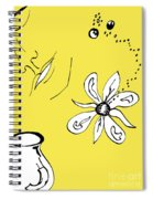 Serenity In Yellow Spiral Notebook