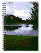 Serenity Lake 4 Spiral Notebook
